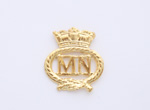Merchant Navy Officers Collar Badge