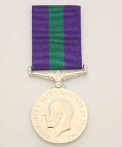 General Service Medal (G.S.M.) 1918 - 62